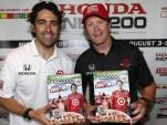 Dario Franchitti and Scott Dixon - IZOD IndyCar Series photo LAT/USA