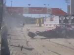 Dario Franchitti IndyCar wreck