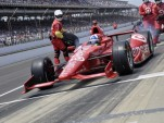 Dario Franchitti's last pit stop at Indianapolis - Anne Proffit photo