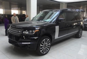 Dartz's extra-long Land Rover Range Rover