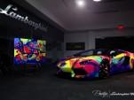 Duaiv Lamborghini Aventador Roadster. Images via Lamoborghini Miami.