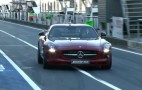 2013 Mercedes-Benz SLS AMG GT On Track With David Coulthard: Video
