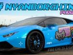 Deadmau5's 'Nyanborghini Purracan' custom Lamborghini Huracán