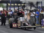 Del Worsham's first year in Top Fuel resulted in a championship - Anne Proffit photo