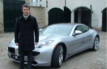 Denmark Crown Prince Frederik and Fisker Karma