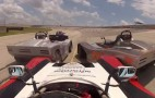 Racer Wrecks At 100 MPH, Charges Back From 25th To First: Video