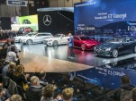 Dieter Zetsche on the Mercedes-Benz stand at the 2017 Geneva auto show