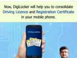 DigiLocker, for storing driver's licenses and vehicle registrations on smartphones in India