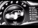 Digital gauge from the 2014 Chevrolet Corvette (C7) revealed in trailer video