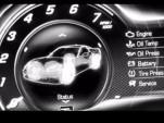 Digital gauge from the 2014 Chevrolet Corvette (C7) revealed in trailer video