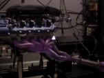 Dinan custom BMW S85 V-10 on the engine dyno