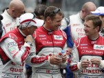 Dindo Capello, Tom Kristensen and Allan McNish - Audi photo