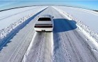 Dodge Challenger SRT Hellcat hits 171 mph on ice: Video