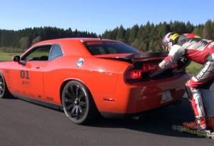 Dodge Challenger Rollerblader Pull