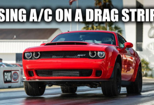 How the Dodge Challenger Demon uses a/c for more power