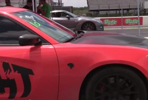 Dodge Charger SRT Hellcat versus the Nissan GT-R