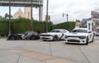 Dodge Star Wars Cars Invade Los Angeles For 'Star Wars: The Force Awakens' Premier