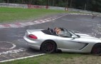 Dodge Viper SRT10 Roadster Hits Hard At The 'Ring: Video