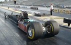 Electric Drag Car & Don Garlits Light It Up In Eerie Silence