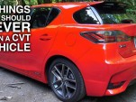 Don't do these 5 things in a vehicle with a CVT