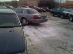 Douche parking