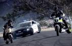 Drifting Mustang Cop Car Versus Drifting Bikes, We All Win: Video