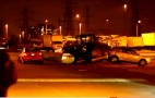 Driverless Tractor Crashes Into Cars At Walmart Parking Lot: Video