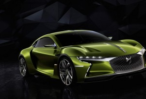 E-Tense Concept Electric Sports Coupe From DS (nee Citroen): Geneva Debut