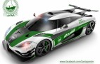 You Know It's Just A Matter Of Time: Koenigsegg One:1 In Dubai Police Livery