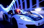 Dubai Police Fleet Shows Off At Night: Video