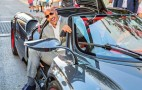 Dwayne Johnson rocks up to 'Ballers' premiere in Pagani Huayra
