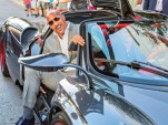 Dwayne 'The Rock' Johnson in a Pagani Huayra - Image via duPont Registry