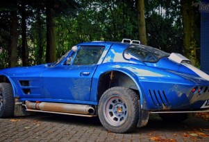 East-African Safari Rally Corvette Grand Sport