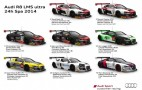 Eight Audi R8 LMS ultra Race Cars To Tackle 2014 Spa 24 Hours