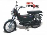 Eko ET-120 hybrid two-wheeler, from Bangalore, India