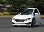 Electra Meccanica Solo three-wheeled electric car unveiled