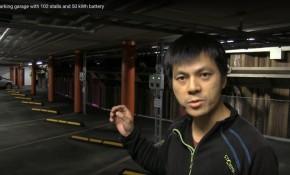 Electric-car advocate Bjorn Nyland shows off Vulkan parking garage, Oslo, Norway  [video, Mar 2017]