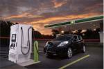 Nissan partners with oil company for electric-car fast charging sites in Charlotte