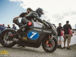 Electric motorcycle at 2016 Isle of Man TT Race: Sarolea