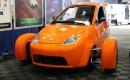 Elio Motors prototype at New York Auto Show press conference, Apr 2015