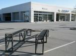 Empty dealership