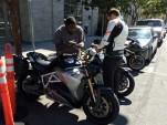 Energica Eva electric motorcycle test ride, San Francisco Bay Area