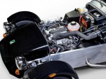 Engine bay of Caterham's upcoming entry-level model