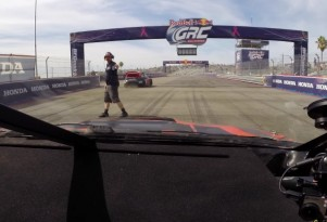 Engineering Explained goes for a ride-along in a Subaru STI Rallycross race car