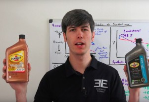 Engineering Explained on conventional vs. synthetic motor oil