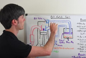 Engineering Explained tackles the subject of oil catch cans