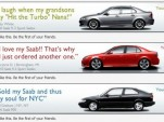 Entries in Saab's banner ad competition