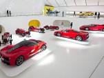 Enzo Ferrari Museum in Modena, Italy