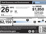 New Gas-Mileage Window Stickers: DoT Head Ray LaHood Explains Them For You (Video)