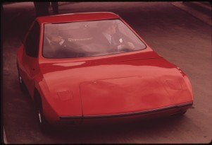 Electric Cars Of The Future...As Imagined In The 1970s